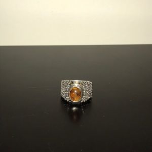 R0893 Silpada amber ring